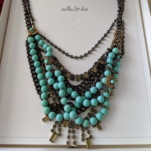 Vintage Stella and Dot statement necklace